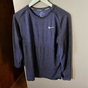 Nike dri-fit long sleeve running shirt